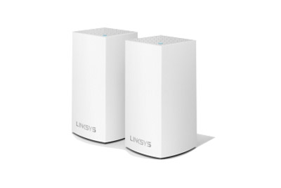 WHW0102-AH Linksys Velop Intelligent Mesh WiFi System, Dual-Band, 2-Pack White (AC2600)
