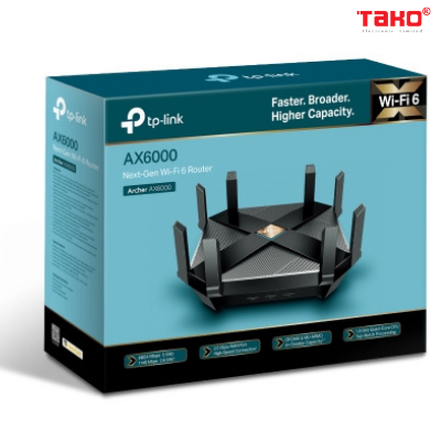 Router Wi-Fi 6 Thế Hệ Kế Tiếp TP-Link AX6000 5
