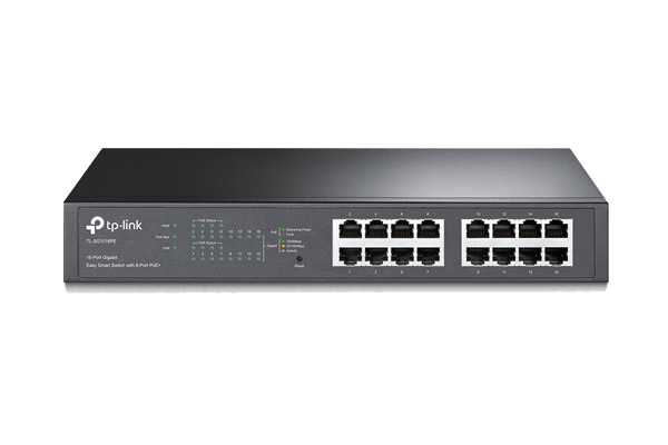 TL-SG1016PE 16-Port Gigabit Easy Smart PoE Switch with 8-Port PoE+ 1