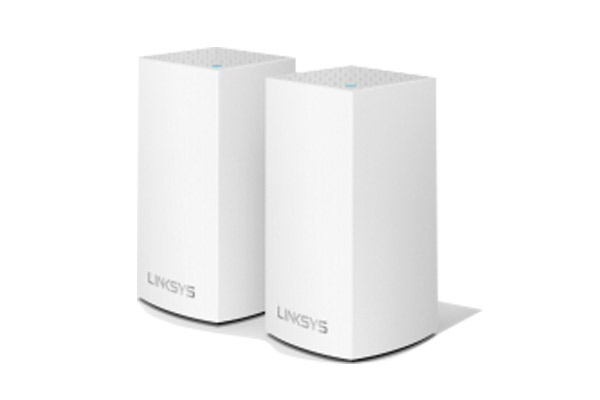 WHW0102-AH Linksys Velop Intelligent Mesh WiFi System, Dual-Band, 2-Pack White (AC2600) 1