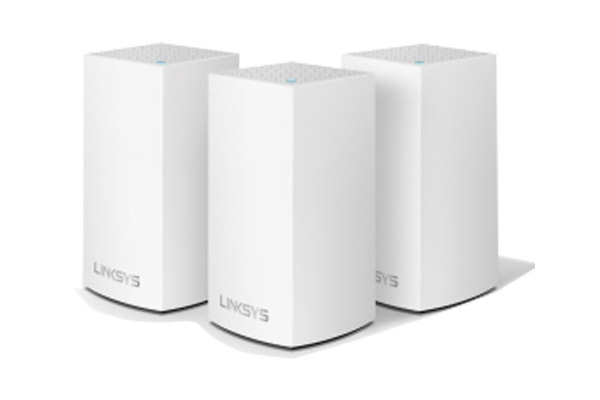 WHW0103-AH Linksys Velop Intelligent Mesh WiFi System, Dual-Band, 3-Pack White (AC3900) 1
