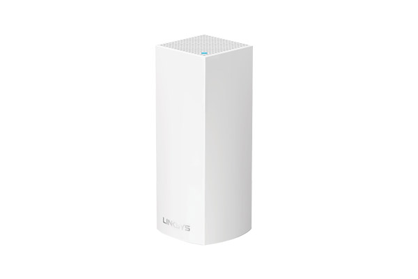 WHW0301-AH Linksys Velop Intelligent Mesh WiFi System, Tri-Band, 1-Pack White (AC2200) 1