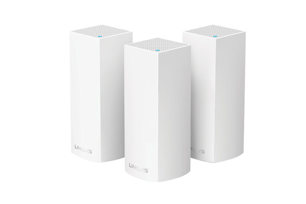WHW0303-AH Linksys Velop Intelligent Mesh WiFi System, Tri-Band, 3-Pack White (AC6600) 1